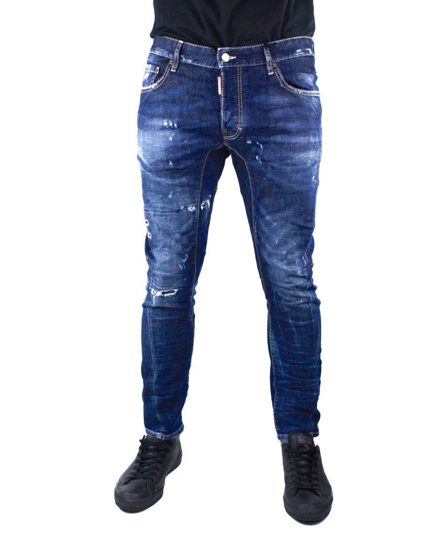 Image for DSquared2 Tidy Biker S74LB0014 Jeans