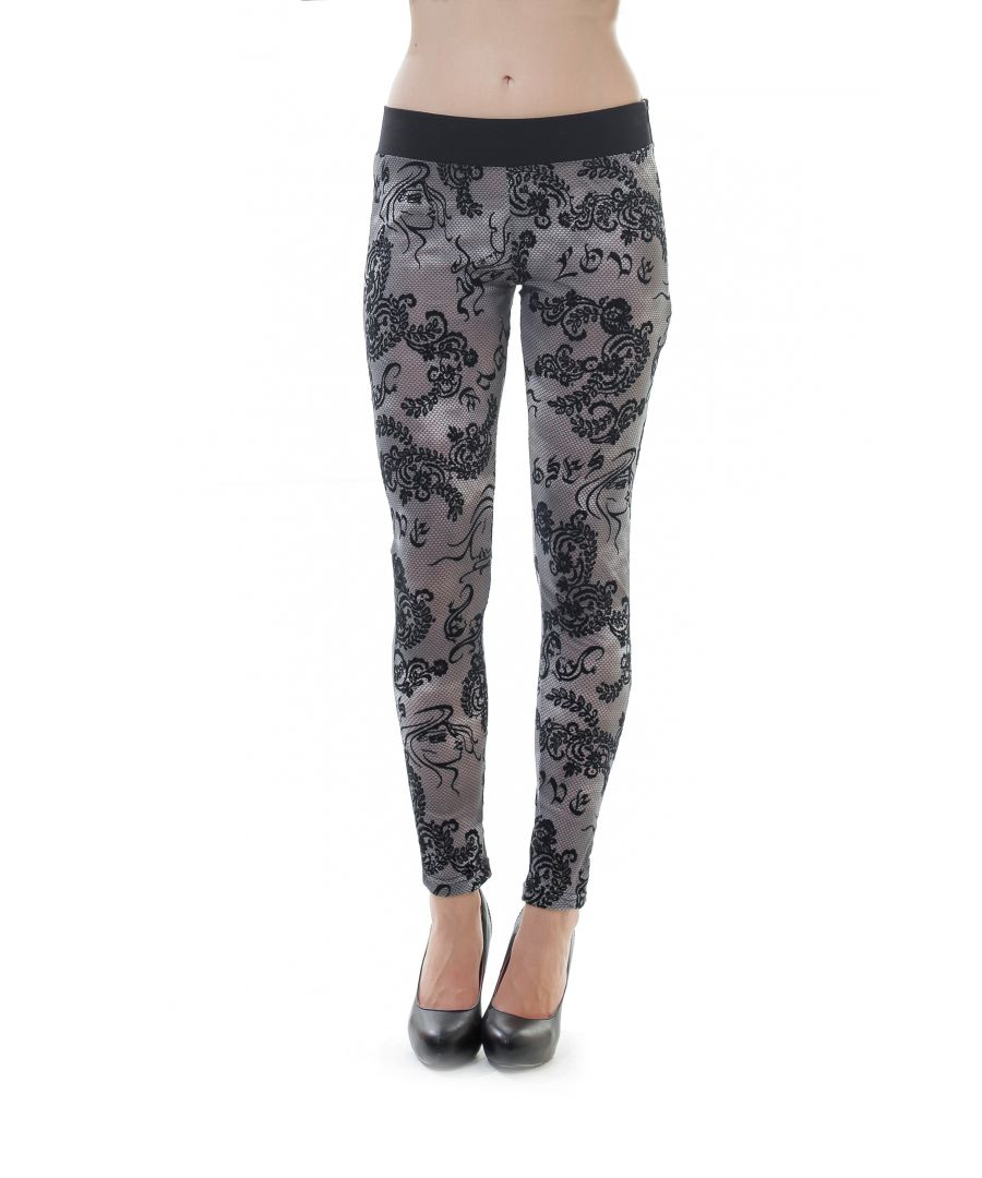 Image for Lace Leggings in Black