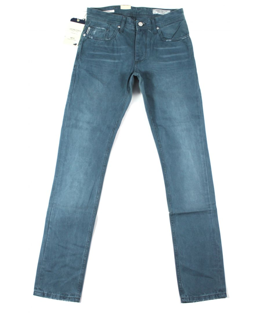 Image for Jack and Jones Tim Original Blue JJ JI Jeans