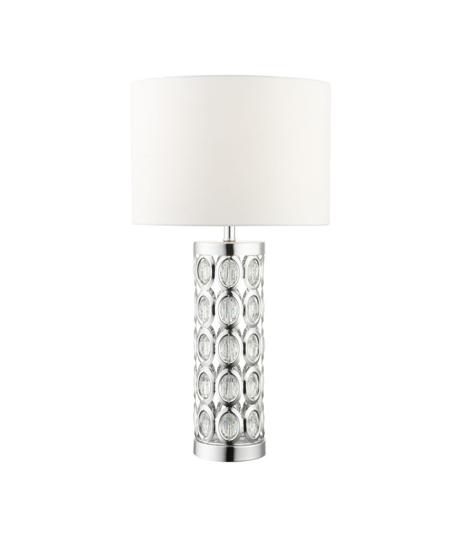 Image for Morena 61cm Polished Chrome Table Lamp