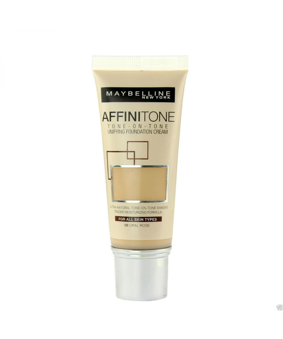 Image for Maybelline Affinitone Unifying Foundation Cream 30ml - 09 Opal Rose