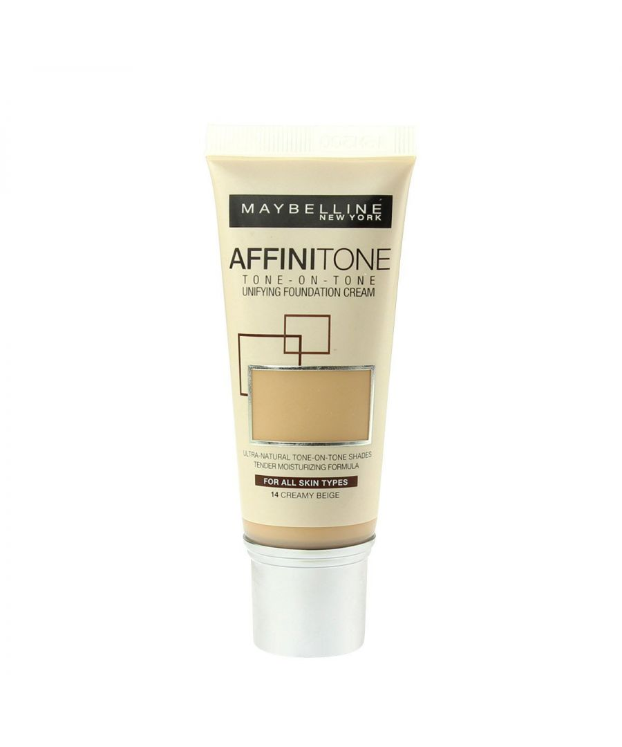 Image for Maybelline Affinitone Unifying Foundation Cream 30ml - 14 Creamy Beige