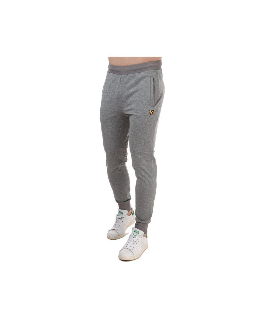 Image for Men's Lyle And Scott Superwick Jog Pants in Grey Marl