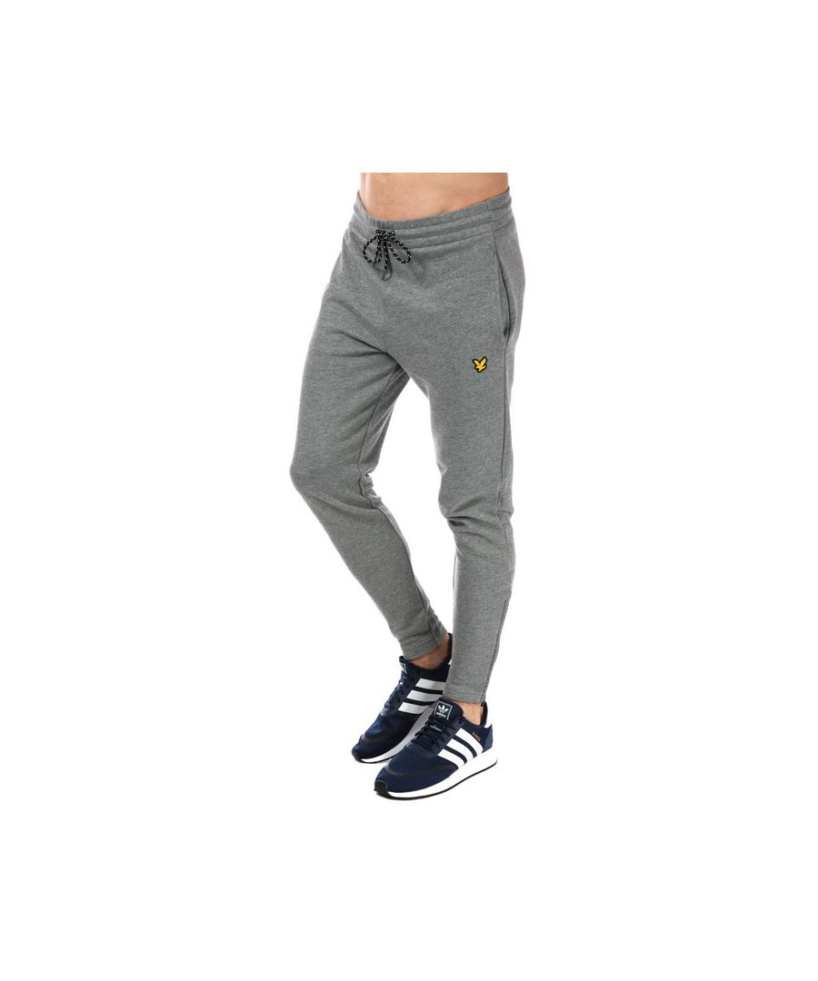 Image for Men's Lyle And Scott Sport Yarlside Track Pant in Grey Marl