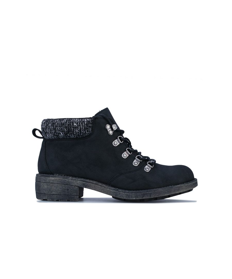 Image for Women's Rocket Dog Train Pablo Ankle Boots in Black