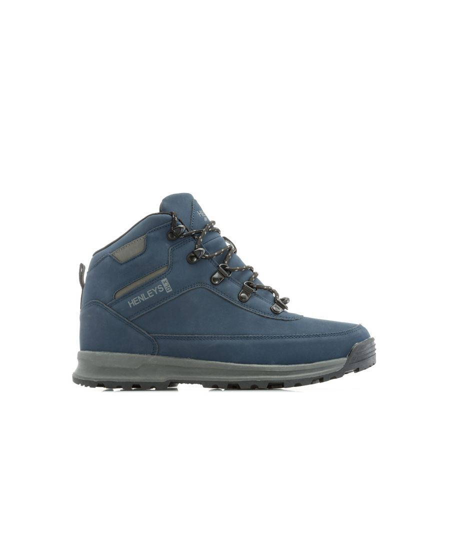 Image for Men's Henleys Travis Boots in Navy
