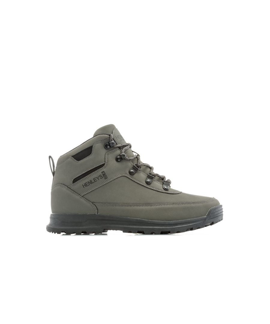Image for Men's Henleys Travis Boots in Charcoal