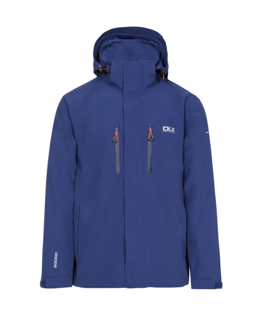 Image for Trespass Mens Oswalt Fully Waterproof Breathable Technical Jacket