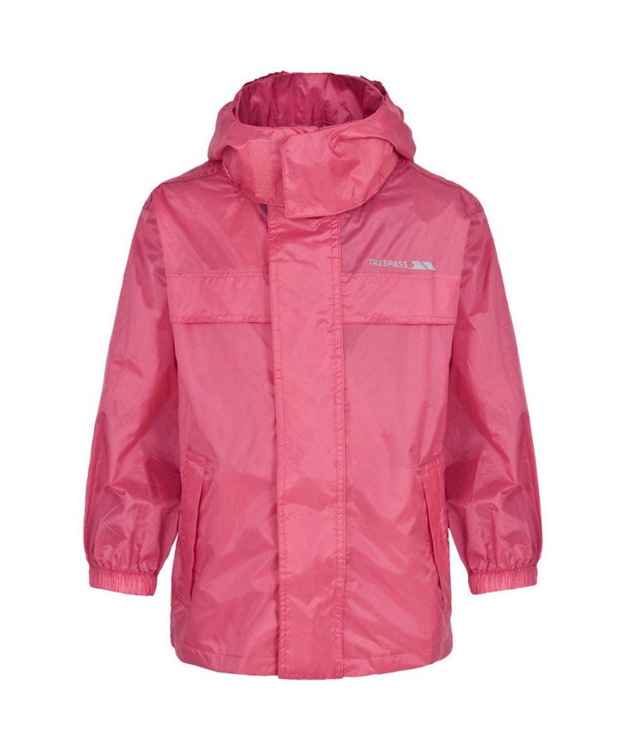 Image for Trespass Boys Girls Packa Light Packable Waterproof Jacket