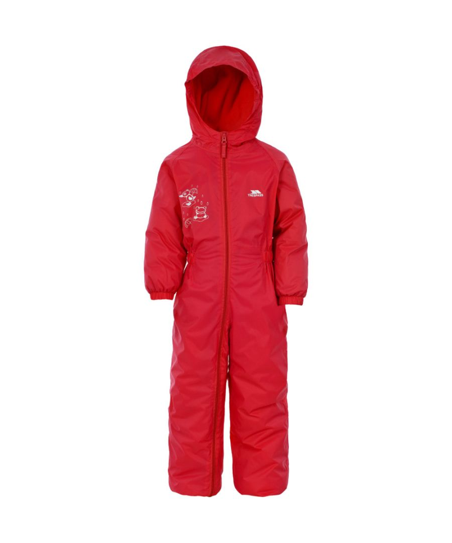 Image for Trespass Boys Girls DripDrop Babies Waterproof Rain Suit