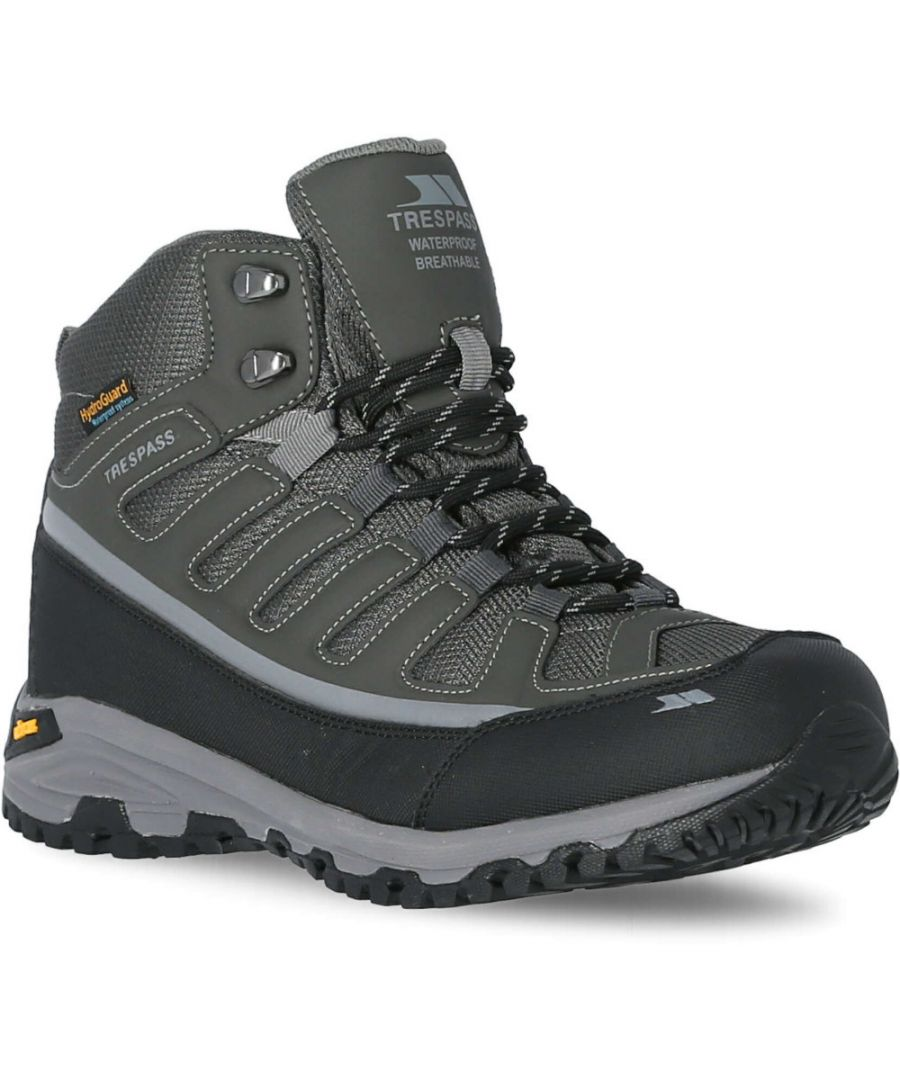 Image for Trespass Mens Tennant Waterproof Breathable Walking Boots