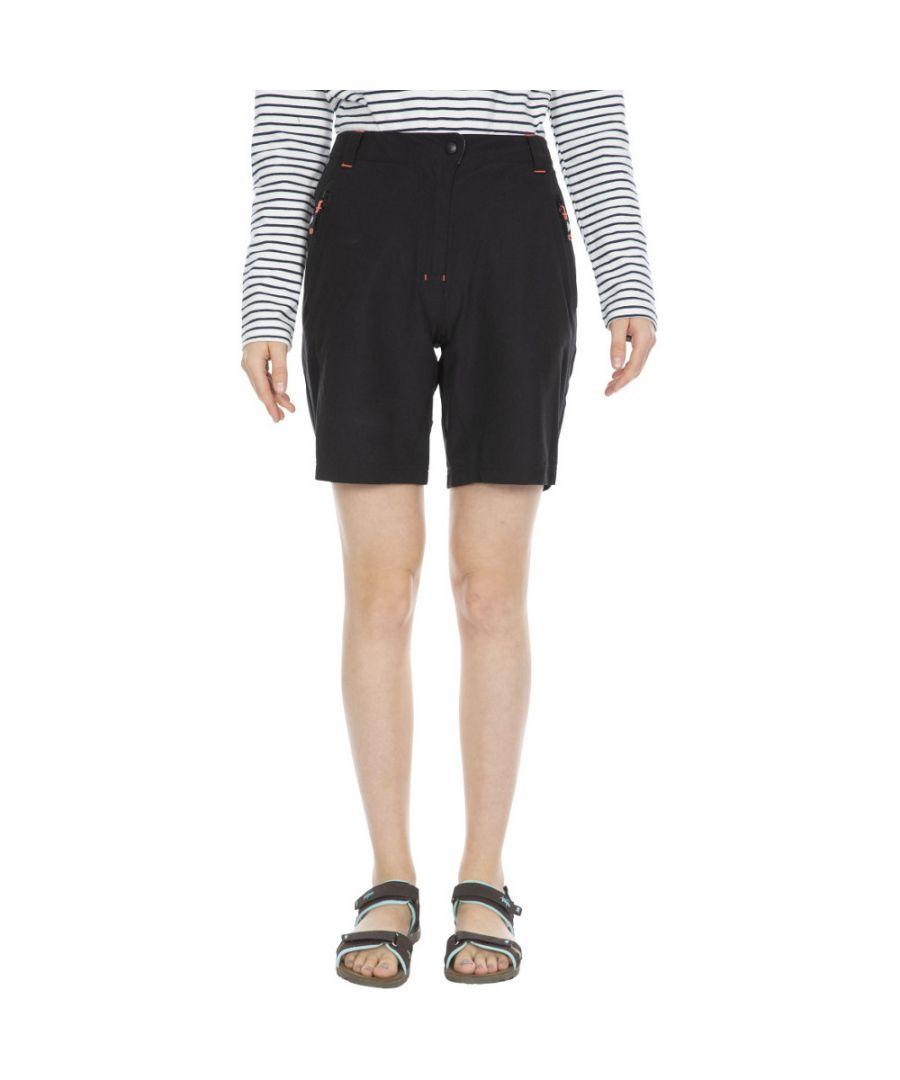 Image for Trespass Womens/Ladies Brooksy Mid Length Summer Walking Shorts