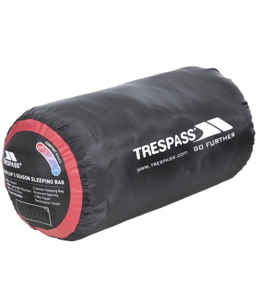 Image for Trespass Mens & Ladies Envelop Unisex Three Season Sleeping Bag