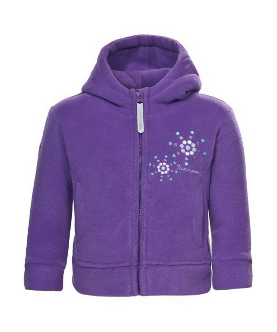 Image for Trespass Girls Shakira Full Zip Embroided Soft Polar Fleece Jacket