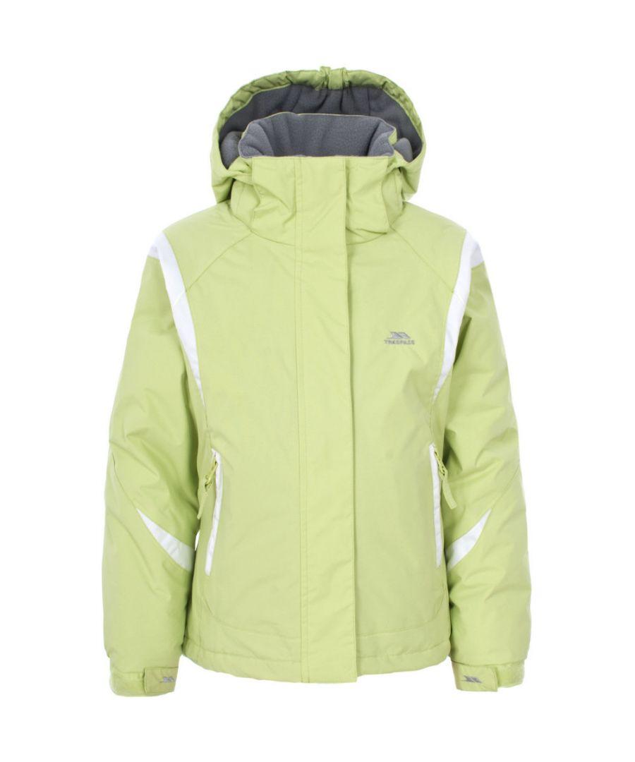 Image for Trespass Girls Vanetta Waterproof Padded Microfleece Lined Ski Jacket