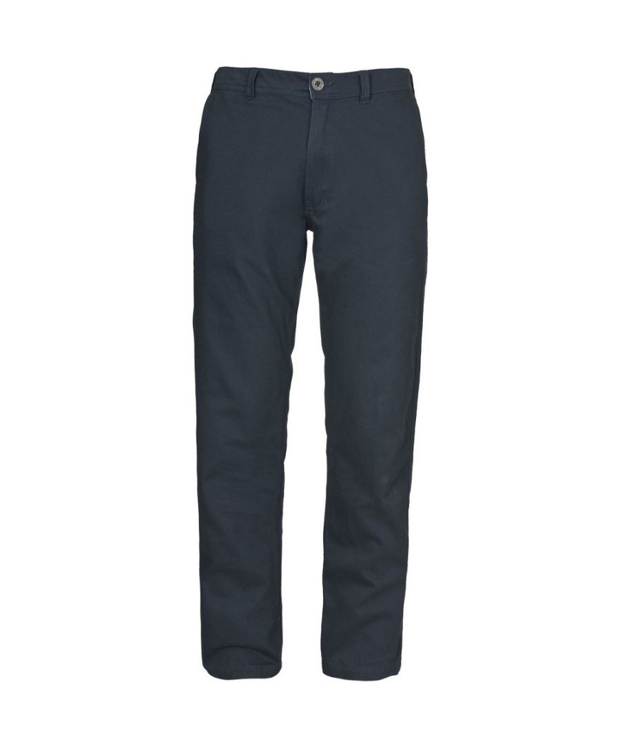 Image for Trespass Mens Milium Cotton Twill Casual Walking Trousers