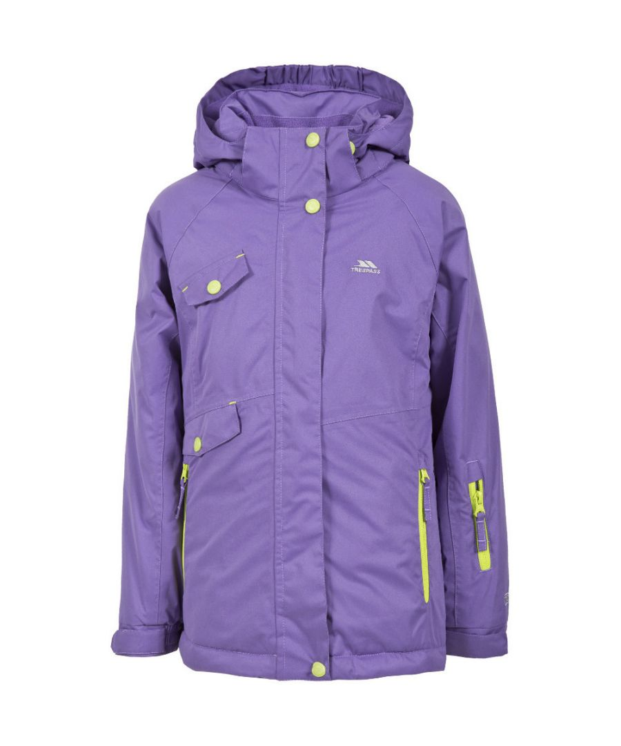 Image for Trespass Girls Verla Waterproof Padded Ski Jacket