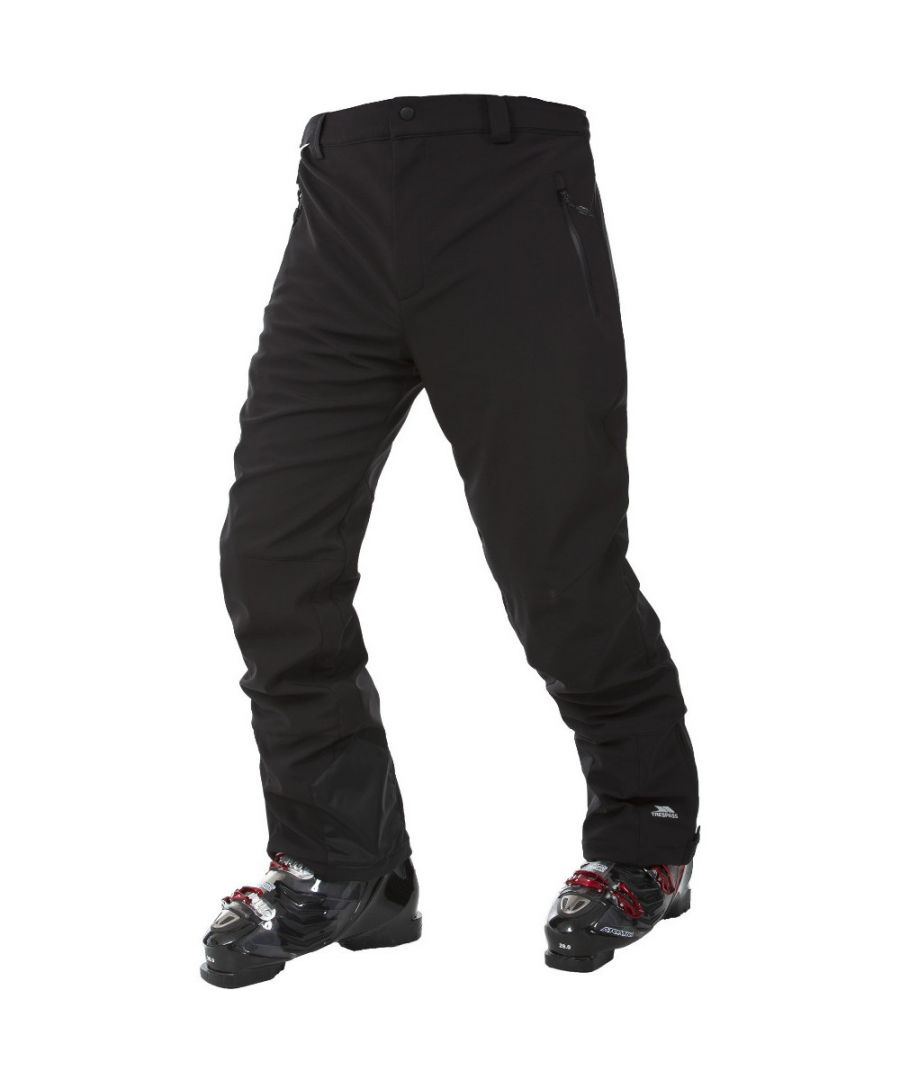 Image for Trespass Mens Westend Waterproof Stretch Softshell Ski Trousers