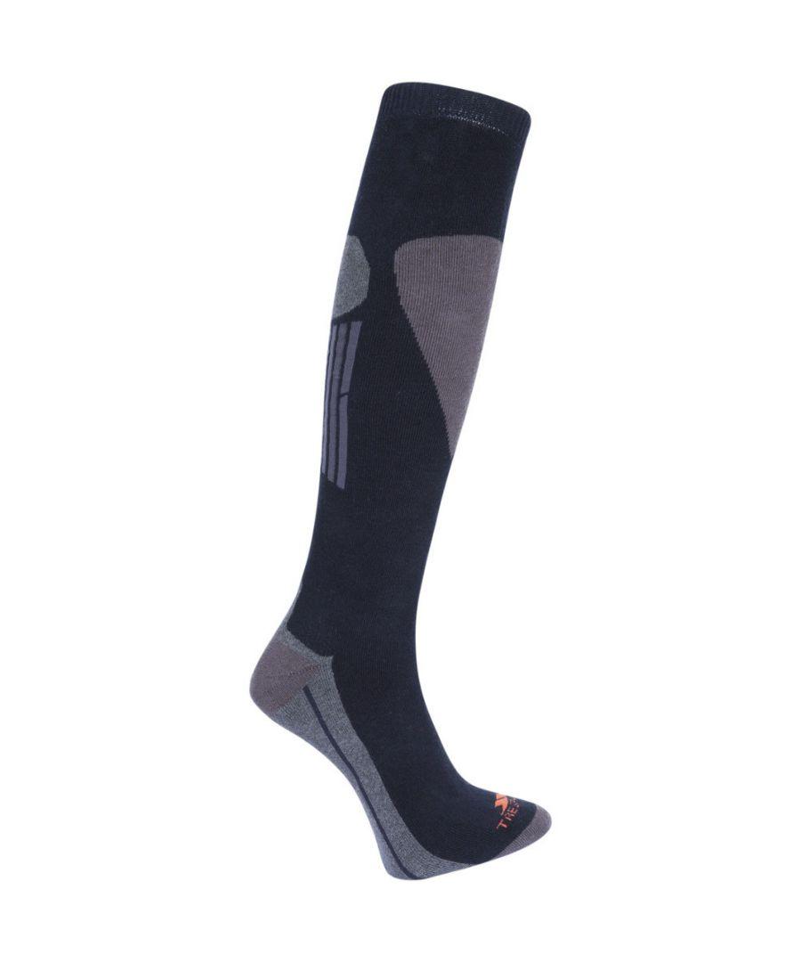 Image for Trespass Mens Hack Pack Warm Cotton Blend Ski Socks One Pair Pack
