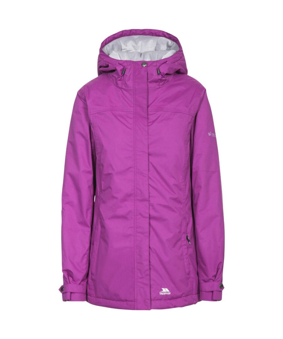 Image for Trespass Womens/Ladies Edna Waterproof Padded Coat Jacket