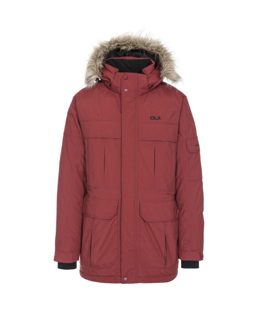 Image for Trespass Mens Highland DLX Waterproof Breathable Natural Down Jacket