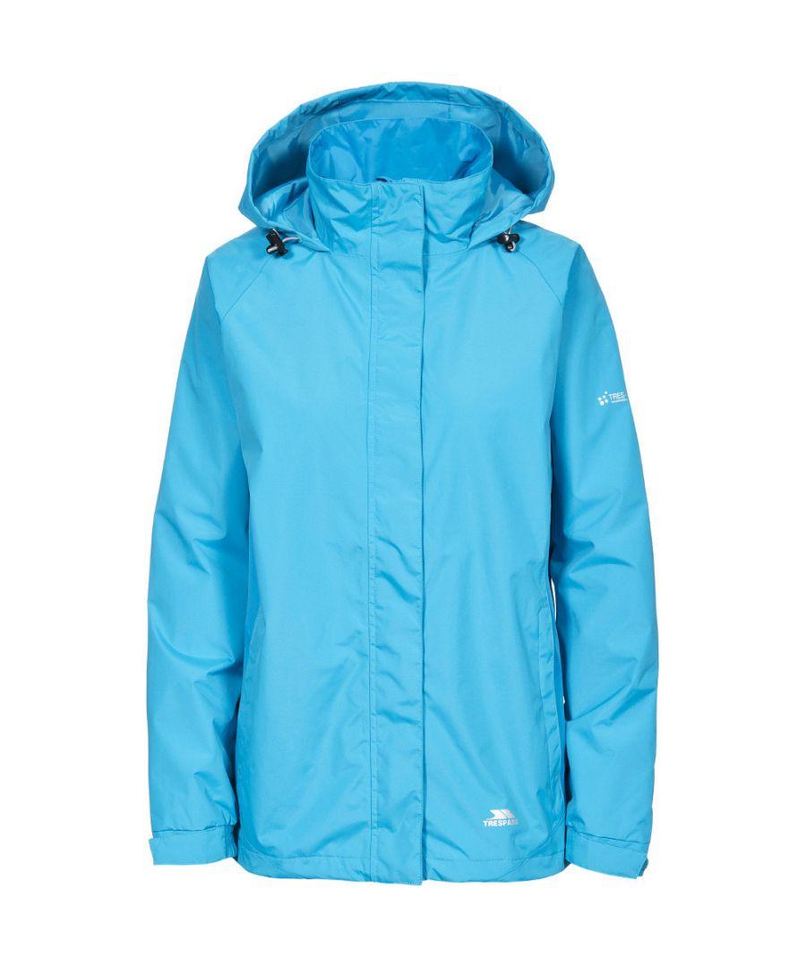 Image for Trespass Womens/Ladies Tarron II Waterproof Lightweight Shell Jacket