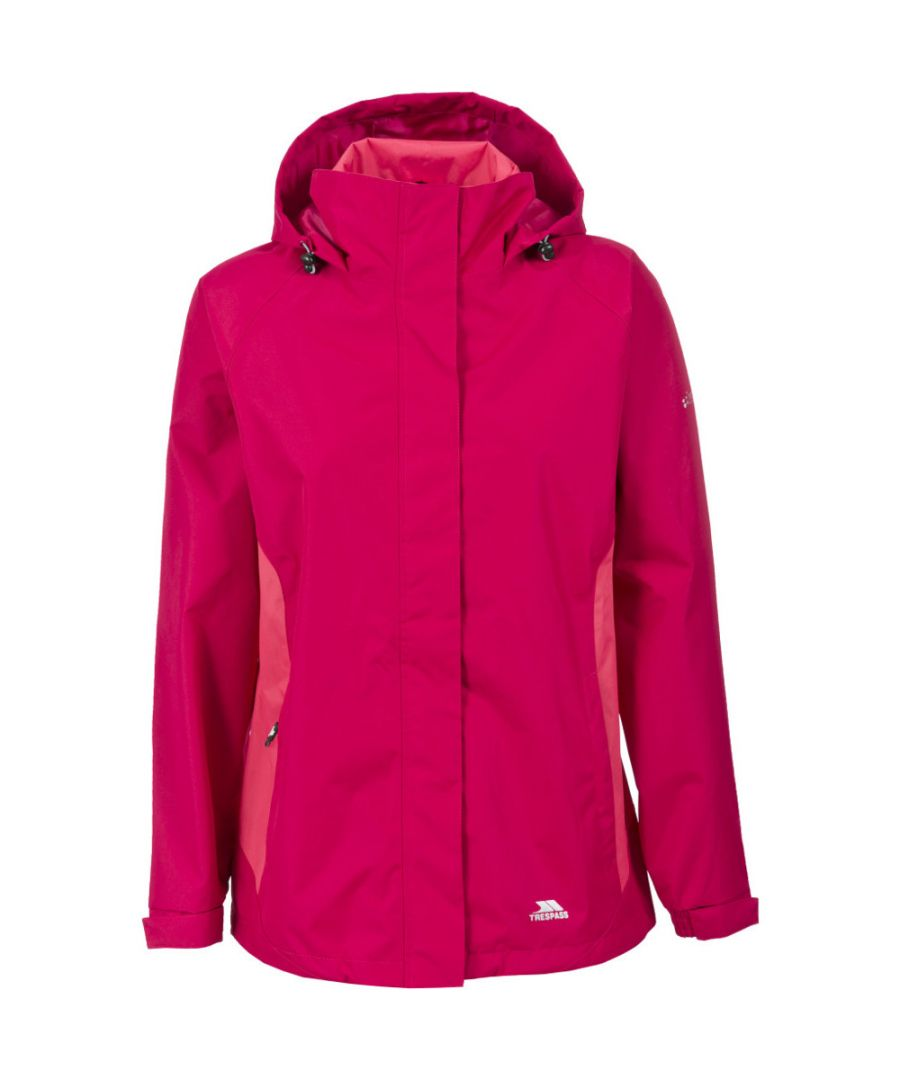 Image for Trespass Womens/Ladies Tarron II Waterproof Lightweight Shell Jacket