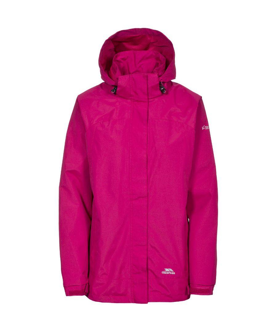 Image for Trespass Womens/Ladies Nasu II Waterproof Mesh Lined Shell Jacket