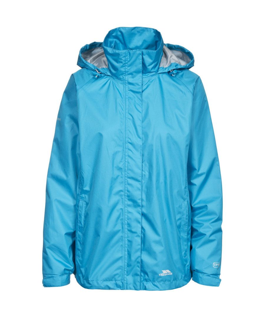 Image for Trespass Womens/Ladies Lanna II Waterproof Breathable Shell Jacket
