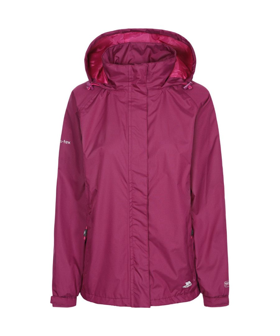 Image for Trespass Womens/Ladies Lanna II Waterproof Breathable Shell Jacket