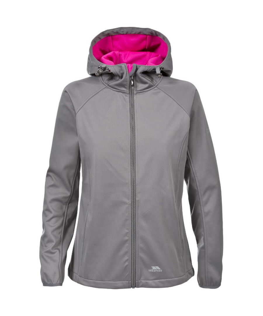 Image for Trespass Womens/Ladies Sisely Waterproof Breathable Softshell Jacket