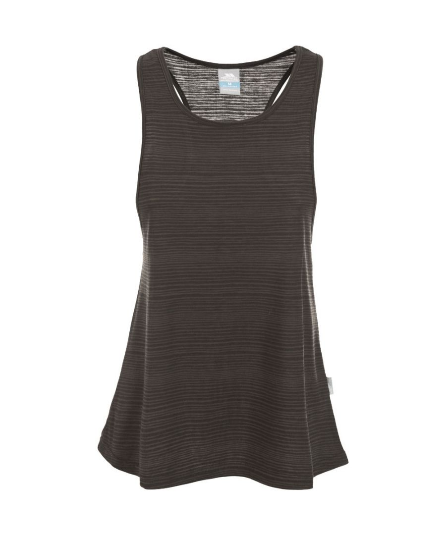 Image for Trespass Womens/Ladies Kaylee Striped Racer Back Active Vest Top