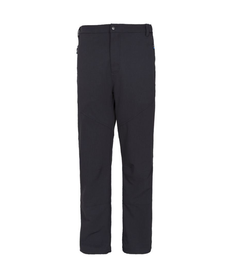Image for Trespass Mens Canyon Polyamide Polyester Elastane Walking Trousers