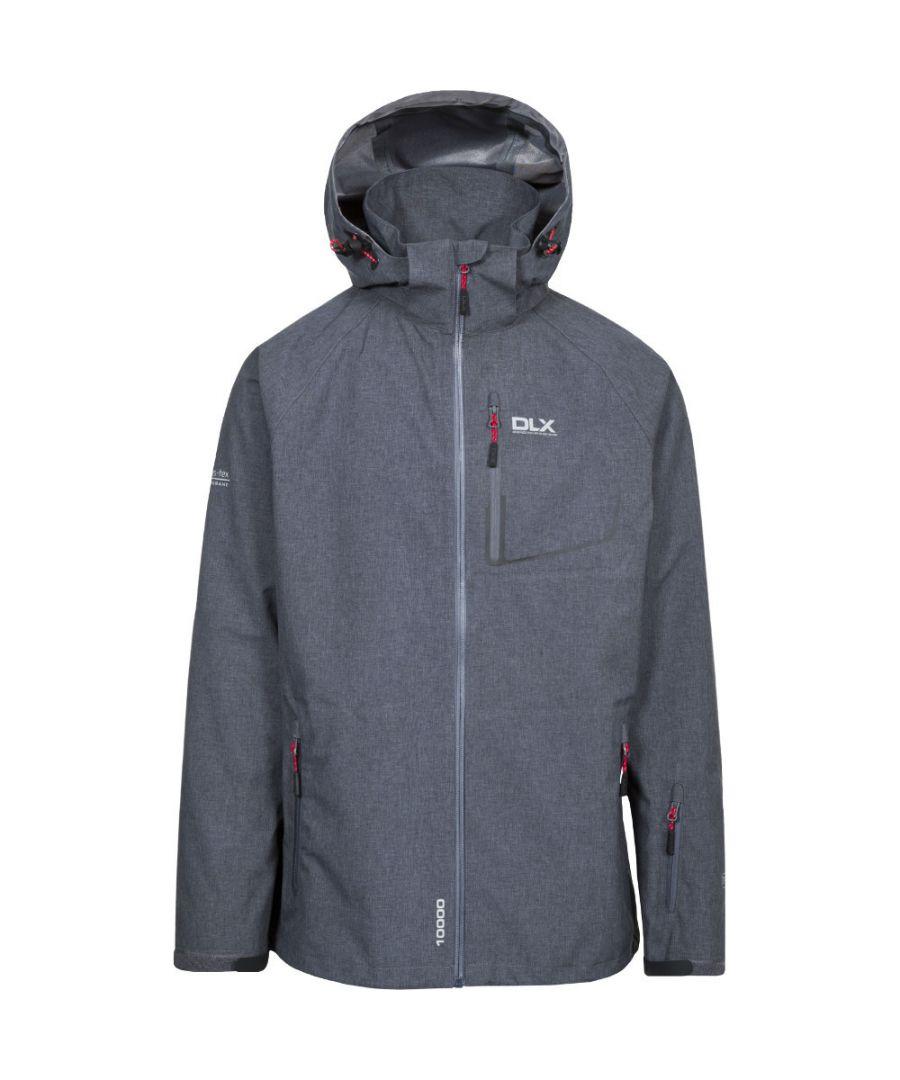 Image for Trespass Mens Caspar DLX Waterproof Breathable Technical Rain Jacket