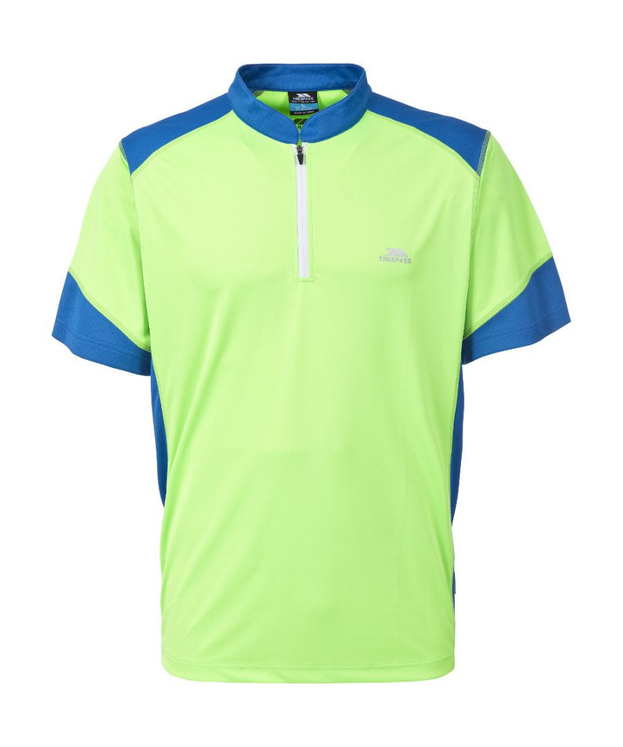 Image for Trespass Mens Dudley Moisture Wicking Quick Dry Cycling Top