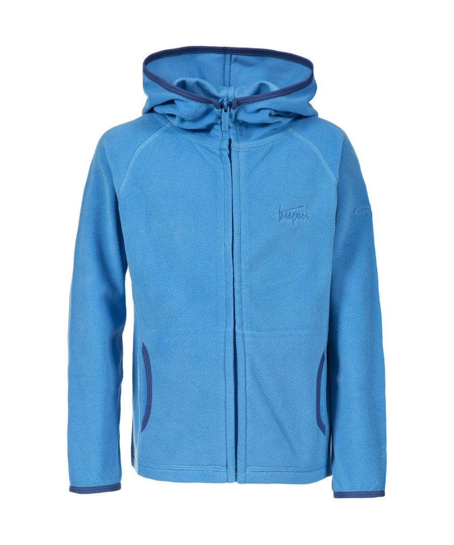 Image for Trespass Boys Melvin Knitted Full Zip Airtrap Micro Fleece
