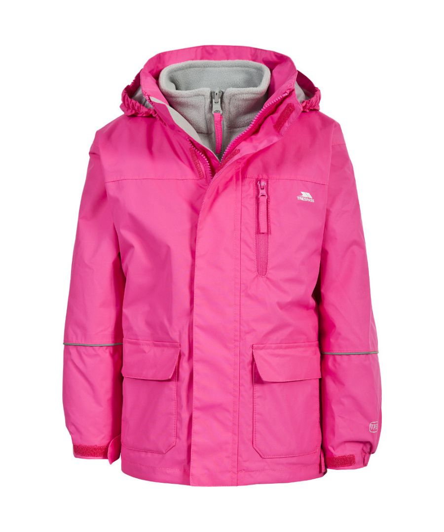 Image for Trespass Girls Prime II Waterproof Breathable 3 in 1 Jacket