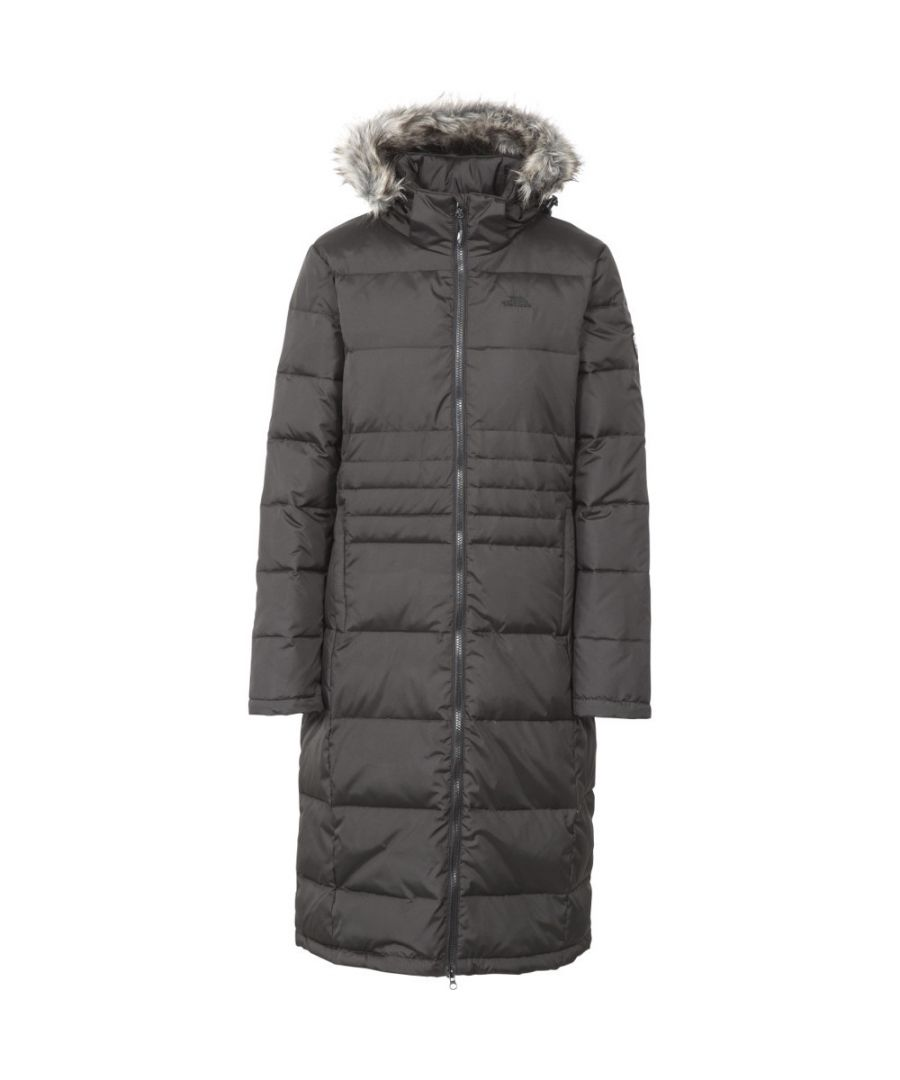 Image for Trespass Womens/Ladies Phyllis Long Length Hooded Down Jacket