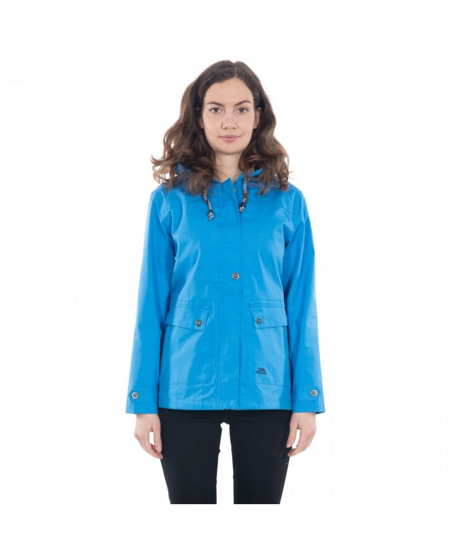 Image for Trespass Womens/Ladies Seawater Waterproof Breathable Windproof Jacket