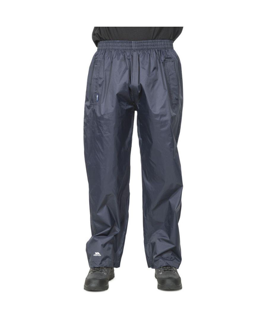 Image for Trespass Mens & Womens/Ladies Packaway Qikpac Waterproof Trousers