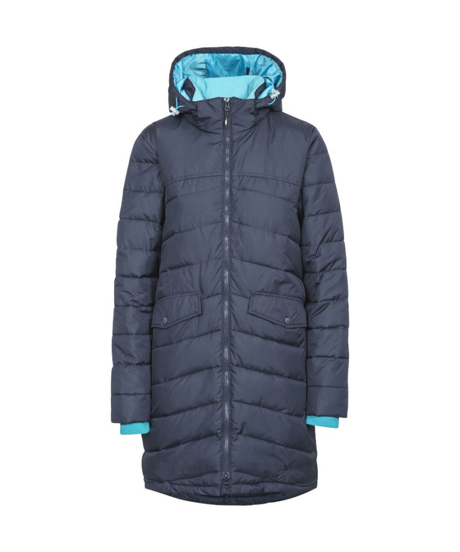 Image for Trespass Womens/Ladies Homely Polyester Padded Hooded Shell Jacket