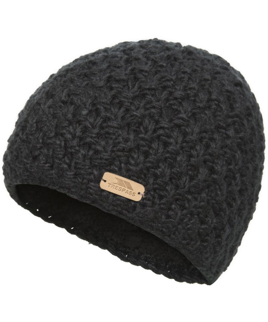 Image for Trespass Womens/Ladies Ania Handmade Knitted Acrylic Beanie Hat