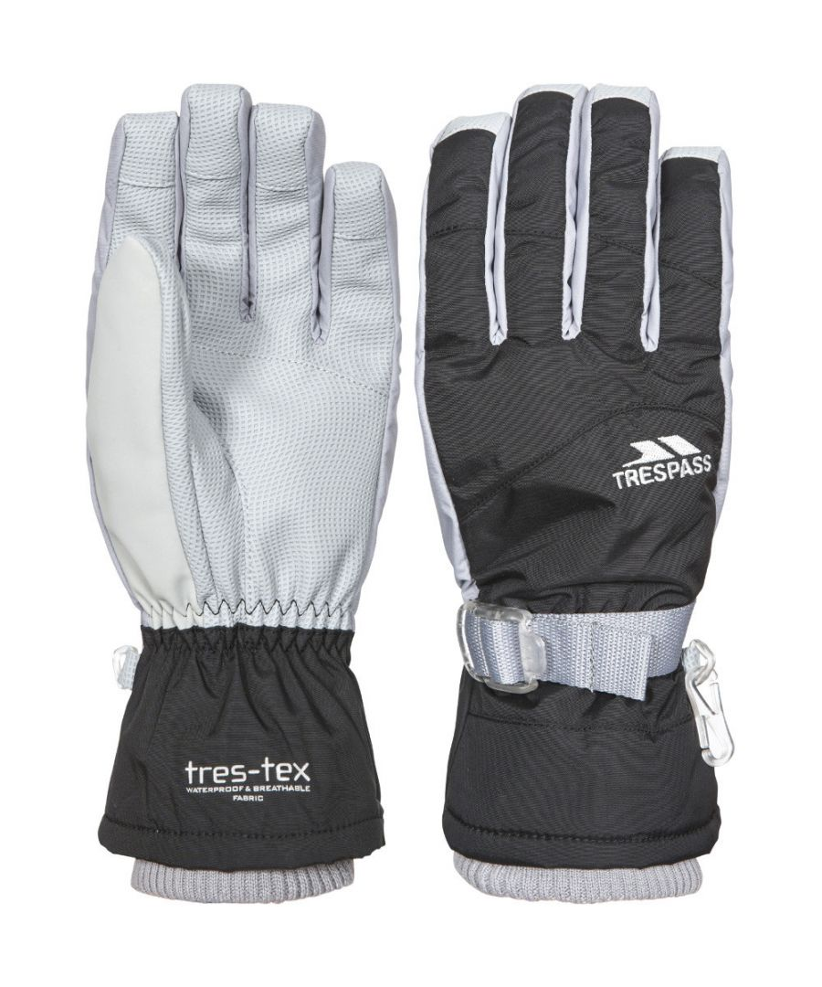 Image for Trespass Boys Vizza II Waterproof Breathable Padded Warm Shell Gloves
