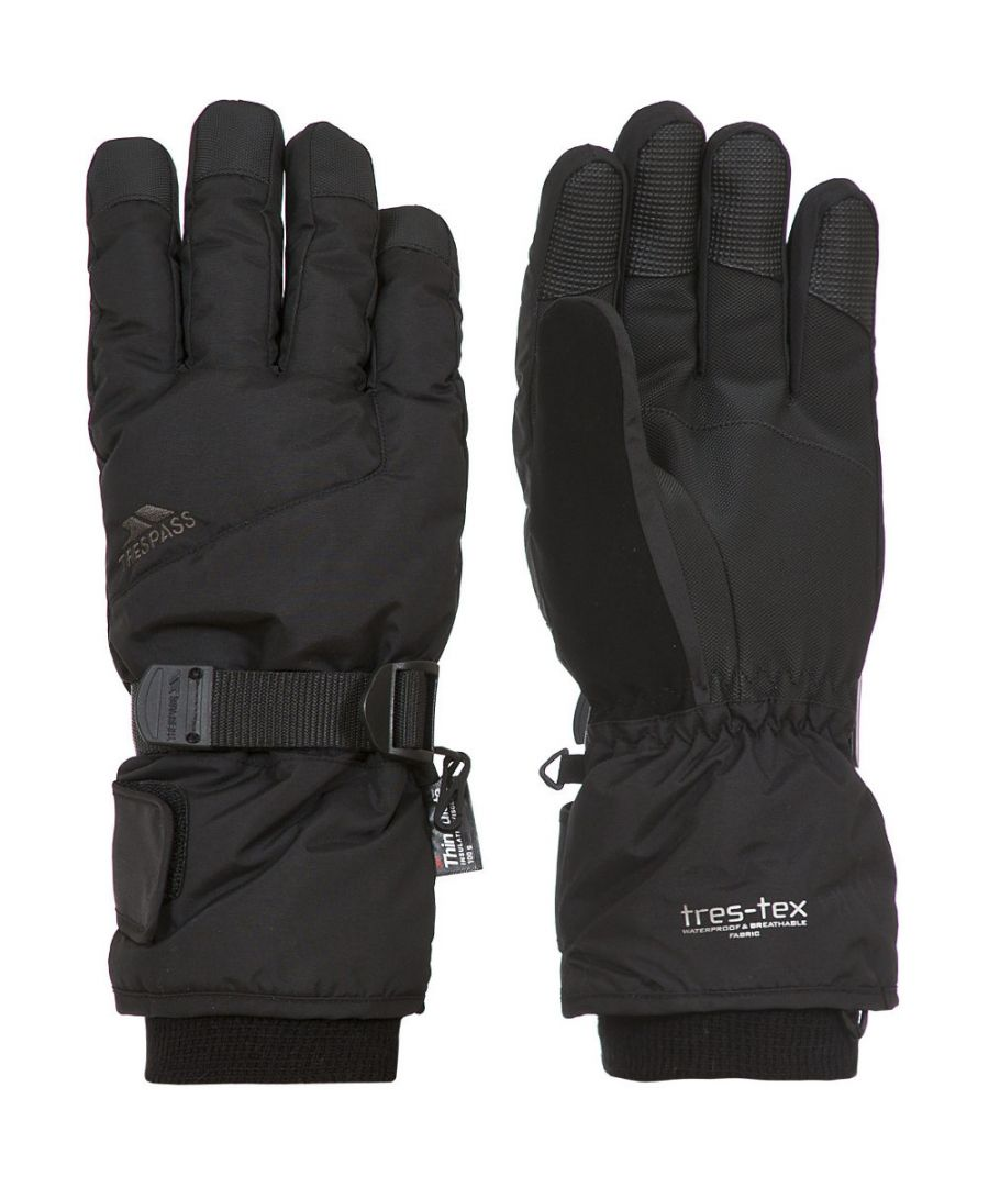 Image for Trespass Mens & Womens/Ladies Ergon II Waterproof Breathable Gloves