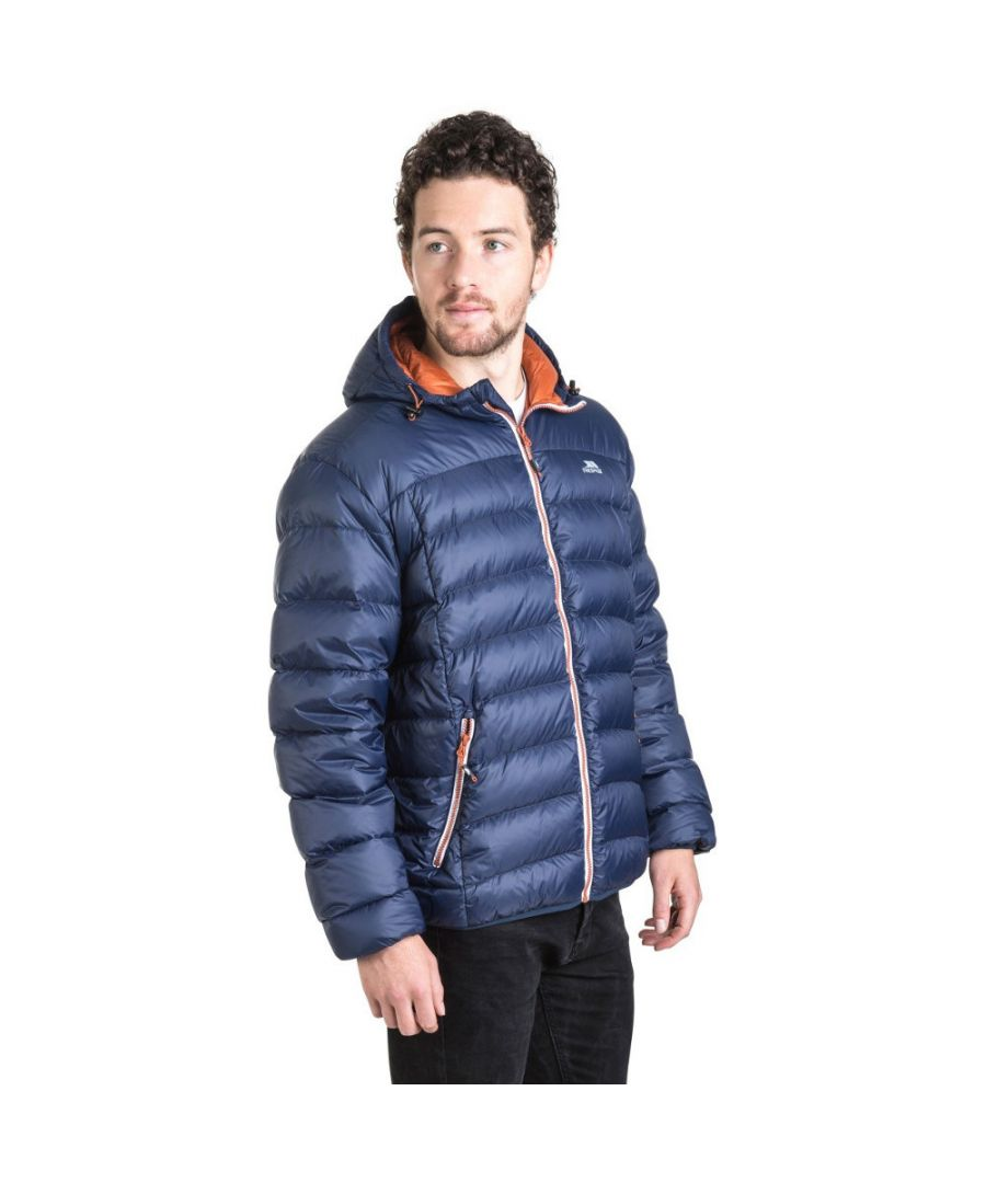 Image for Trespass Mens Whitman Polyamide Ultra Lightweight Packable Down Jacket