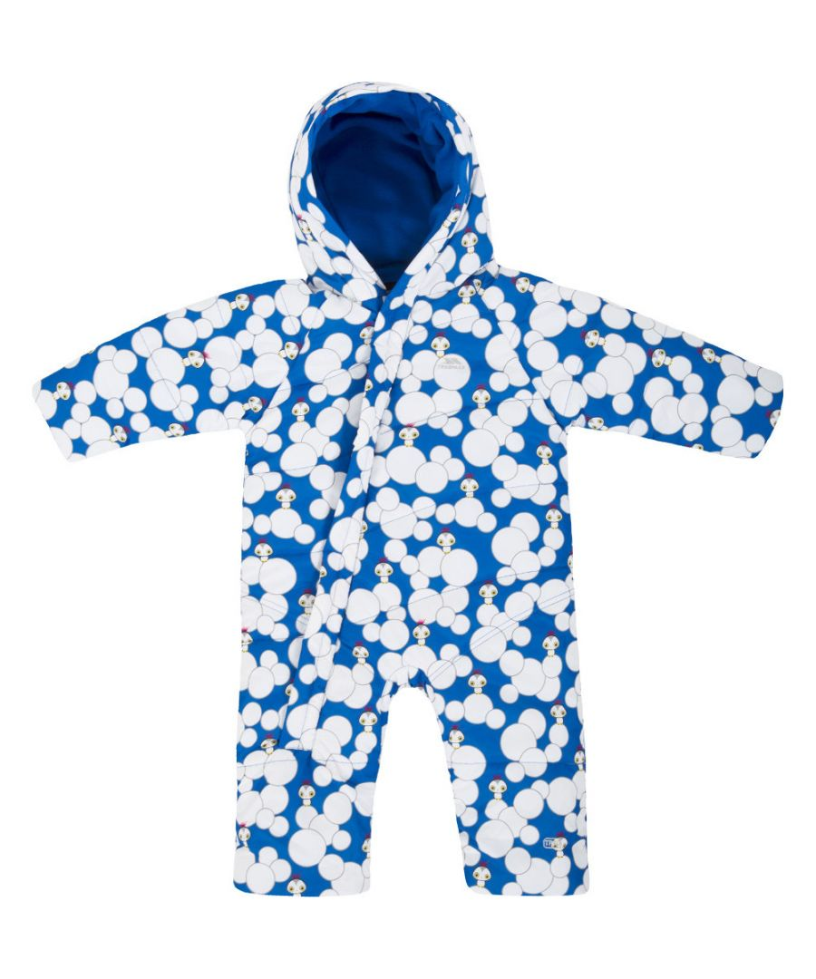 Image for Trespass Boys Babies Theodore Water Resistant Padded Fleece Snowsuit