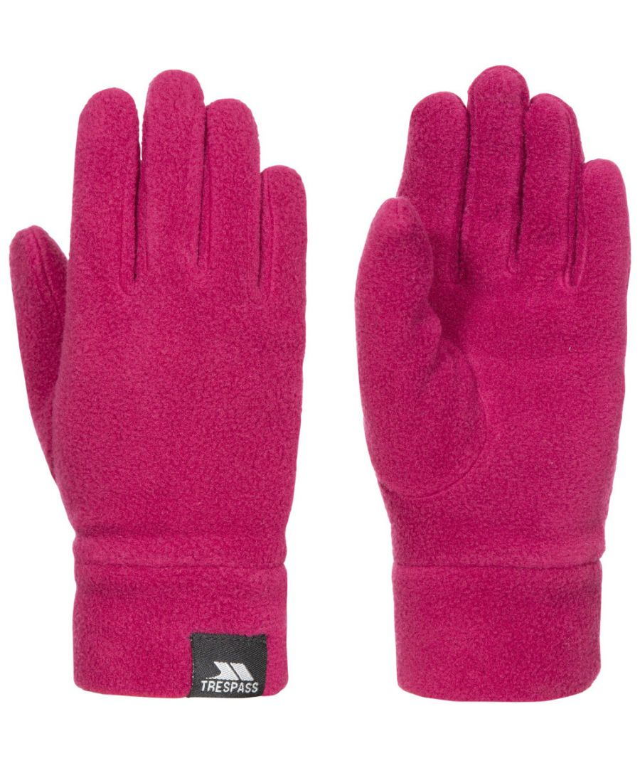 Image for Trespass Boys Lala II Polyester Knitted Polyester Fitted Fleece Gloves