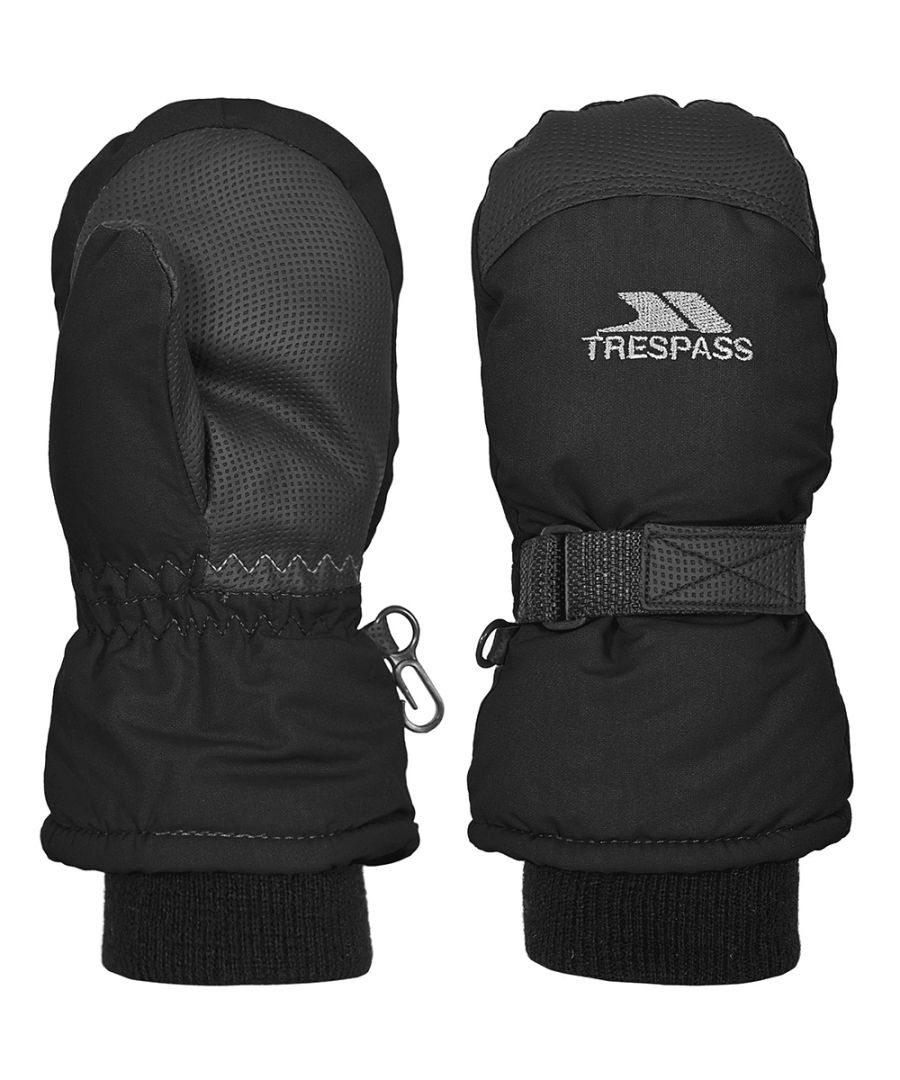 Image for Trespass Boys Cowa II Lightly Padded Adjustable Winter Mitts