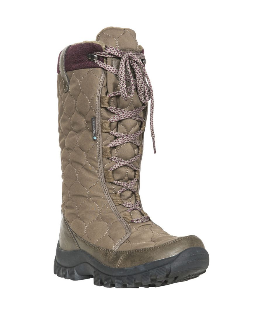 Image for Trespass Womens/Ladies Ceitidh Waterproof Insulated Snow Winter Boots