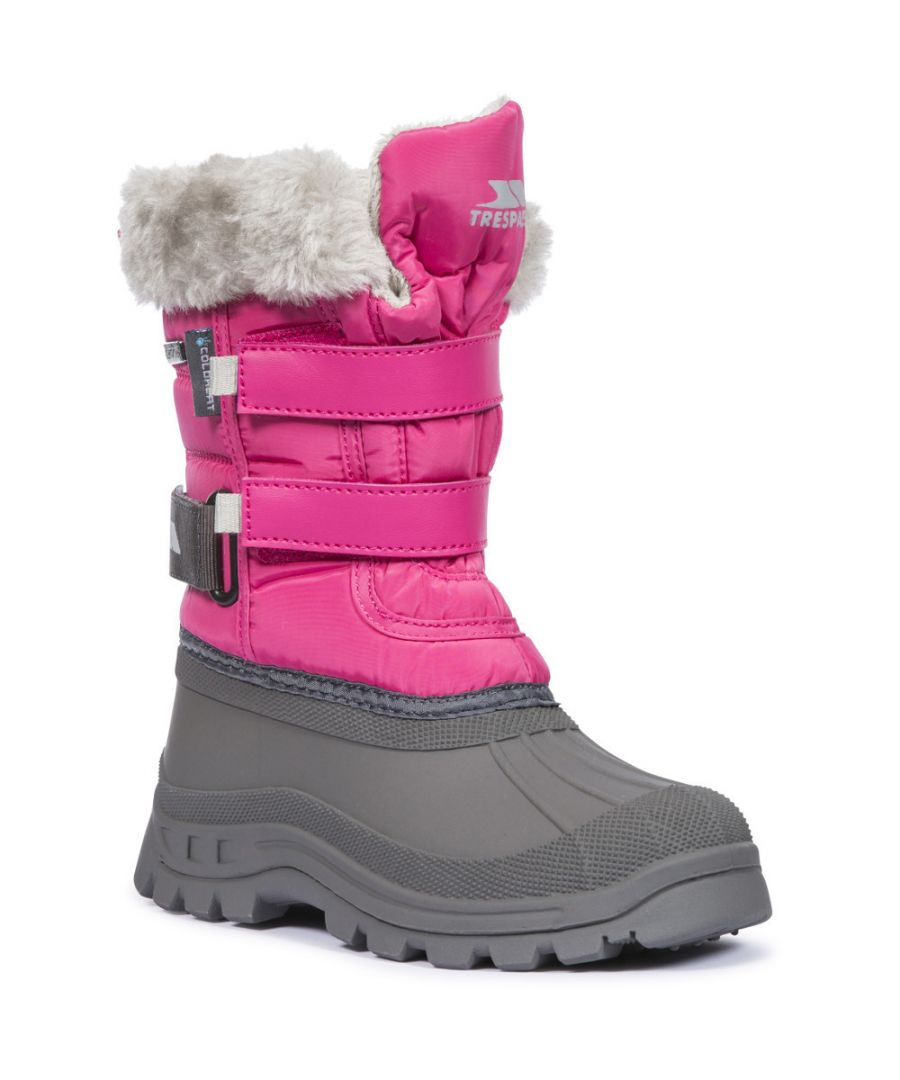 Image for Trespass Girls Stroma II Insulated Fleece Lined Winter Snow Boots